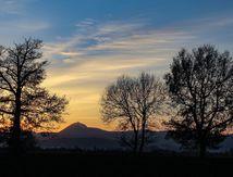 Panorama,coucher de soleil puy de dôme_32