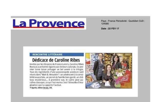 La Provence 22 février 2017