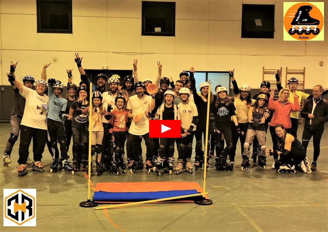 Roller Lib, Nimes, stage, free style, lunel, montpellier, patin, slalom, saut,