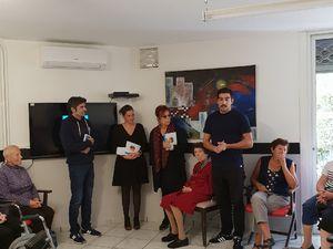 PAD à l'EHPAD de St-Cyprien 2018