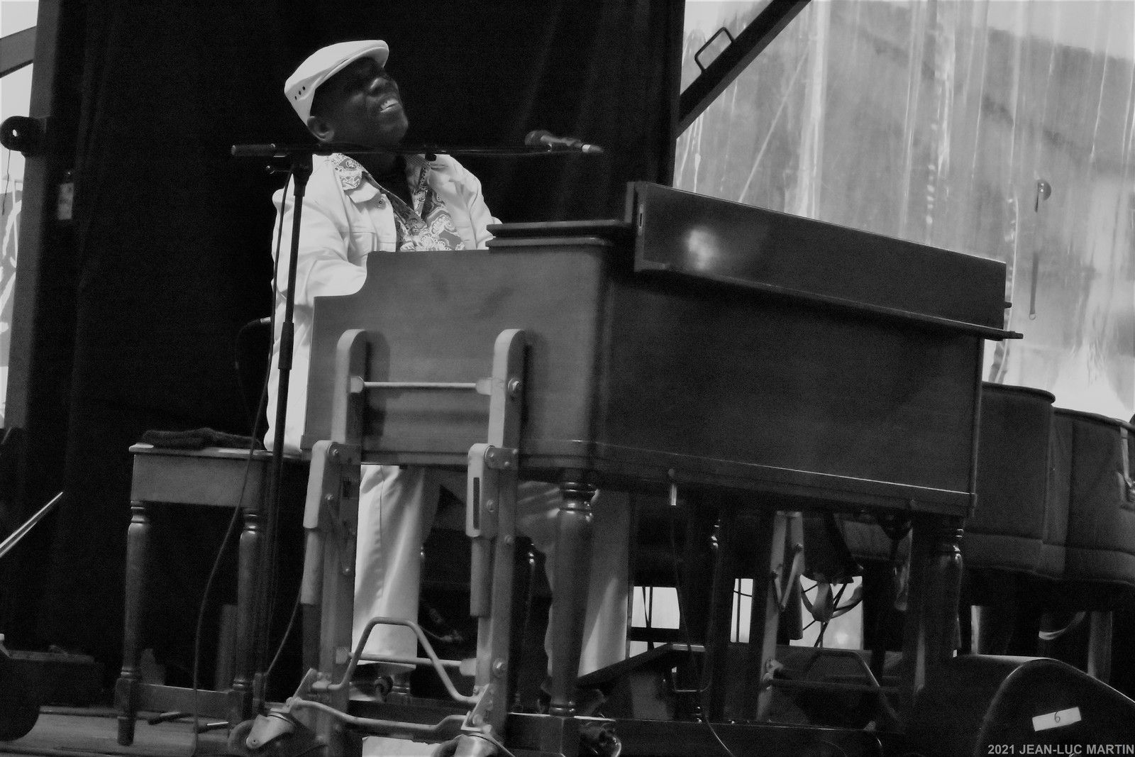 LUCKY PETERSON: IN HONOREM BLUES AND SOUL POUR L'ACADEMIE CHARLES CROS