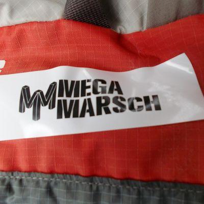 An Erfahrung gewonnen; Megamarsch Hamburg, 08./09.2017