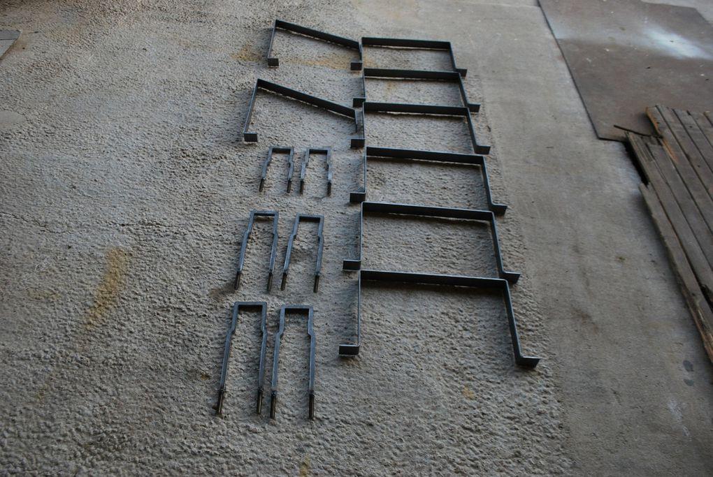 Crédit photos : Alain Chaussade -le réservoir traité et soudure à l'étain avec  finition au galva à froid - les diverses brides neuves. le véhicules au 20/12/16