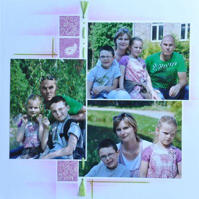 Annevoie - photos de famille