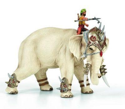 La metáfora del elefante y el jinete