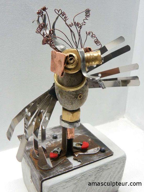 Barrême à la découverte de la sculpture sur métal / AMA
