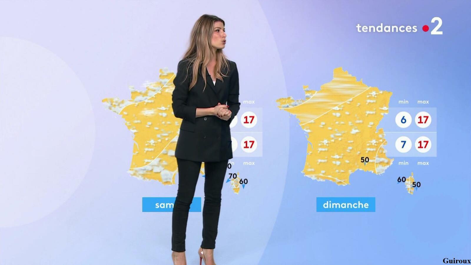Chloé Nabédian 07/10/2021 Journaux météo du soir