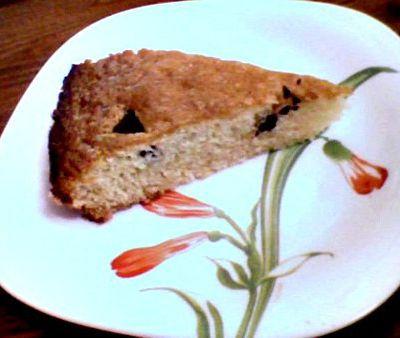 Gâteau rapide et sans oeufs