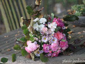 Un bouquet pour Laetitia.
