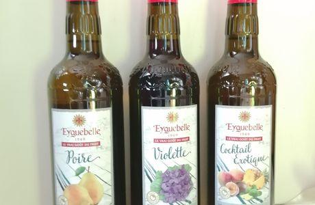 De délicieux Sirop Artisans du Domaine d'Eyguebelle