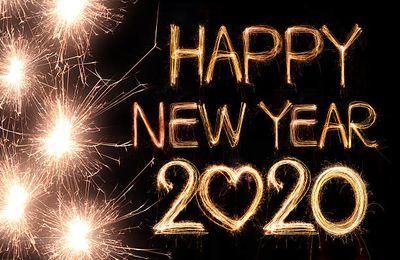 Belle et pétillante année 2020 !