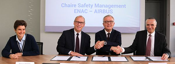 Lancement de la chaire 'Safety Management ' ENAC-AIRBUS