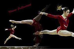 Interview de Youna DUFOURNET, gymnaste de l'équipe de France