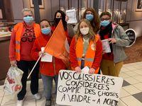 Mobilisation massive des salariés du Market d'Amiens