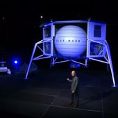 Blue Origin founded in 2000 by Jeff Bezos & Blue Moon a moon lander - OOKAWA Corp. Raisonnements Explications Corrélations