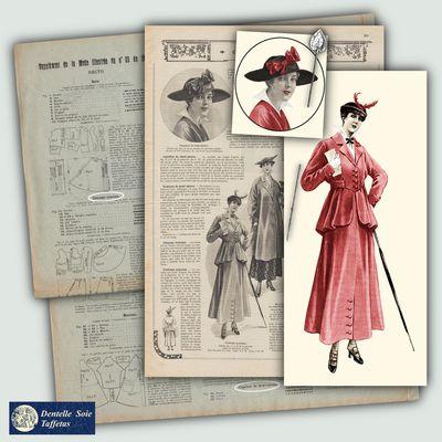 Costume nouveau de 1915