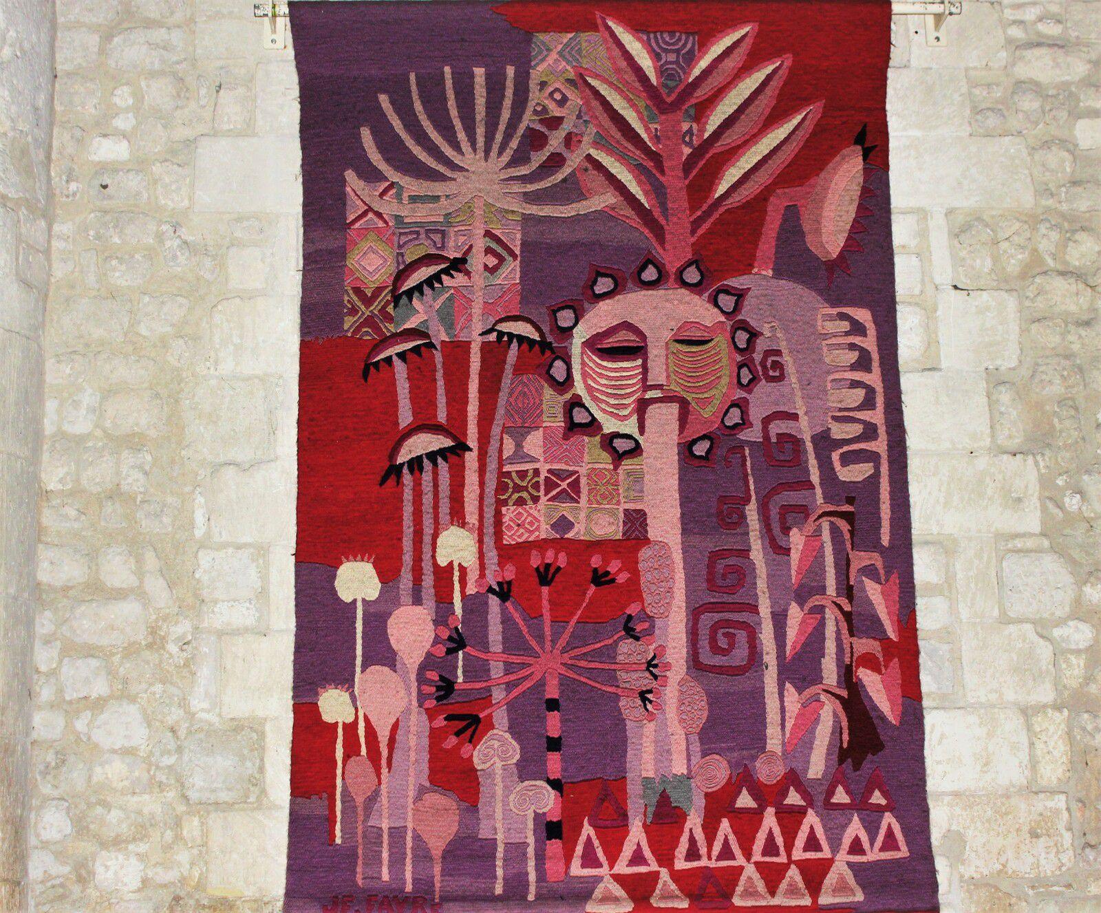 Les tapisseries de la Genèse à l'abbaye des Dames de Saintes. Jean-François Favre.