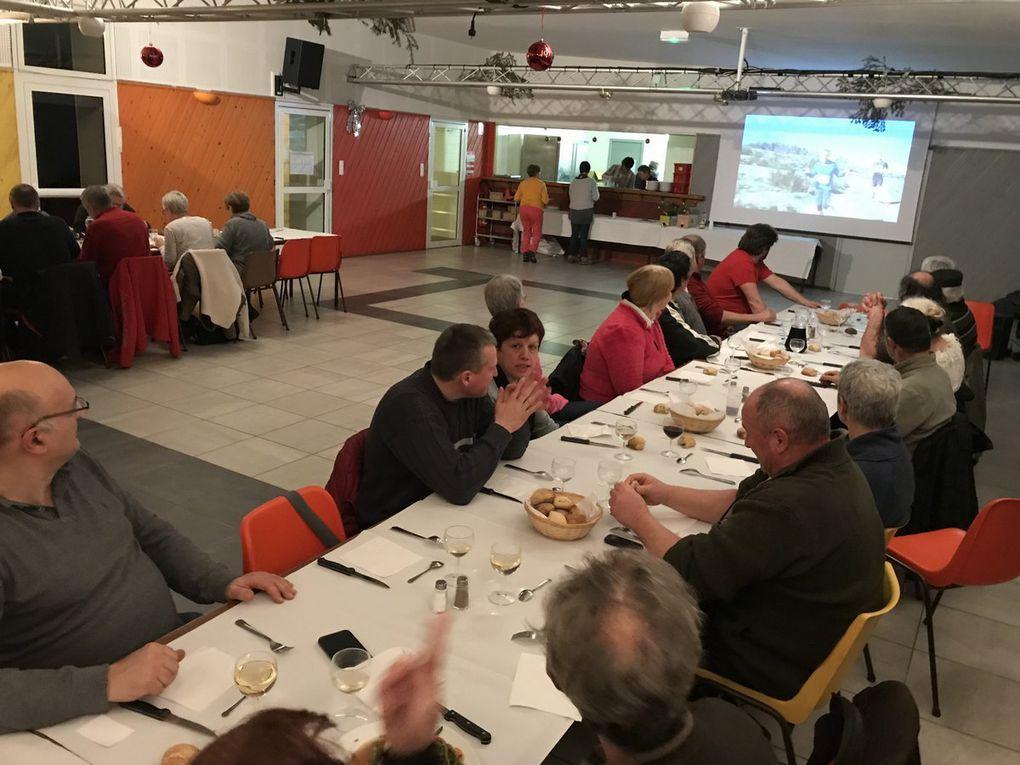 Repas des bénévoles - samedi 20 janvier 2018