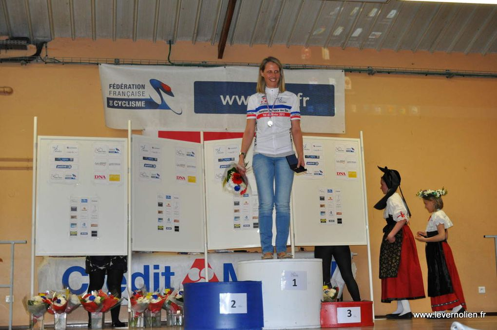 La course à pied et les podiums C à P, VTT et combiné
