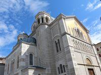Cathédrale, amphithéatre, église orthodoxe serbe, musée juif et palais Revoltella