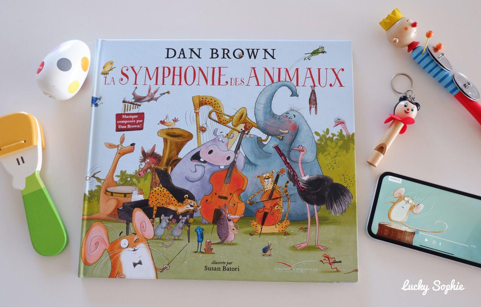 La symphonie des animaux de Dan Brown