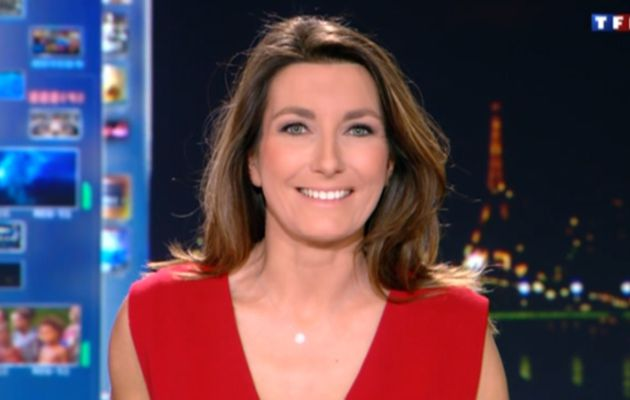 2013 01 06 - ANNE-CLAIRE COUDRAY - TF1 - LE 20H @20H00