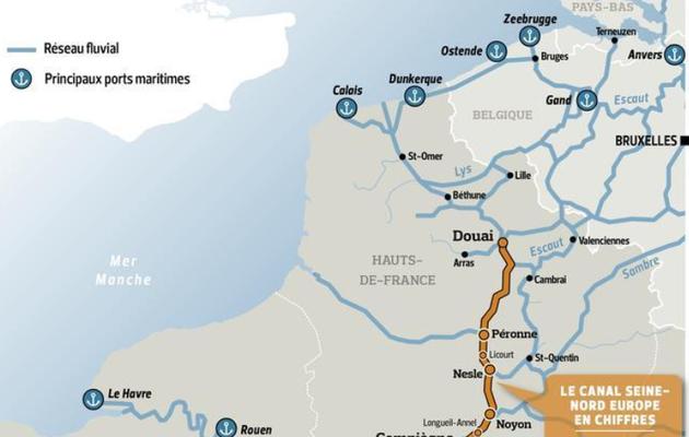 Canal Seine Nord Europe : Enfin, un accord  vient d'être signé