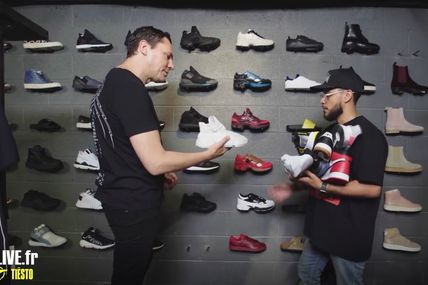 Tiësto Goes Sneaker Shopping With Complex