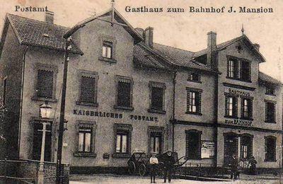 L'histoire postale de 1846 à 1918 à Algrange