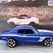 70 CHEVELLE SS HOT WHEELS 1/64 + TAMPO LEXMARK - car-collector