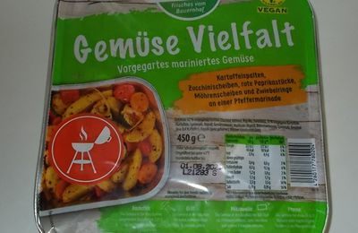 Pahmeyer Gemüse Vielfalt vorgegartes mariniertes Gemüse