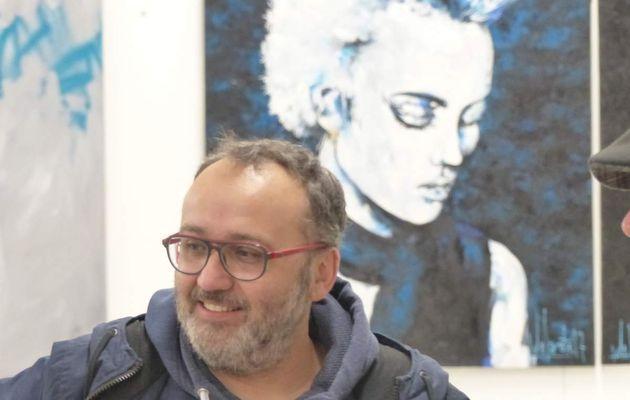 Delacote: 20 ans de peintures en entrepôt