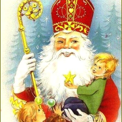 Saint-Nicolas en illustration