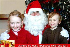 Marché de Noël place du Capitole à Toulouse - 2011