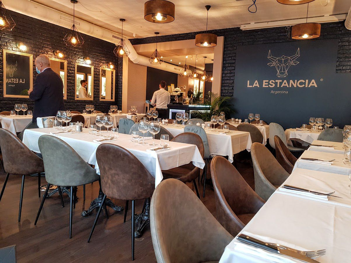 La salle de la Estancia restaurant Paris 6