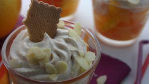 Mes recettes avec Thé de LU® : Verrine d'agrumes à la chantilly de biscuits Thé de LU®