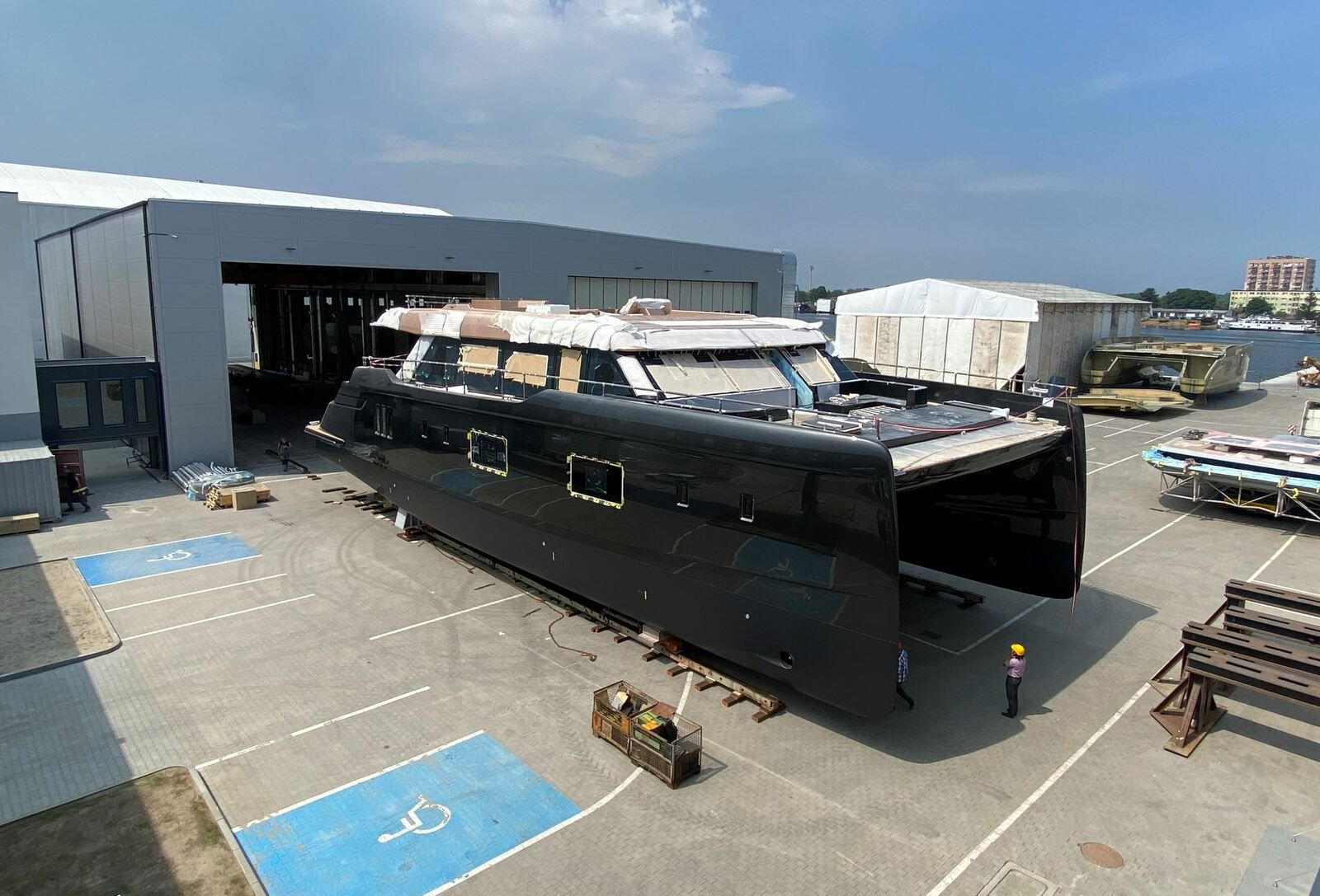 Scoop - first pictures of the first 100 Sunreef Power