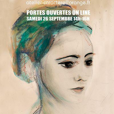 PORTES OUVERTES ON LINE, ATELIER ECRITURE SAMEDI 26 SEPTEMBRE