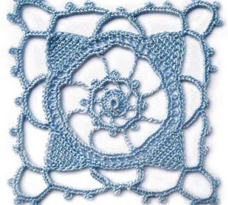 Crochet : Carré 17 & 18