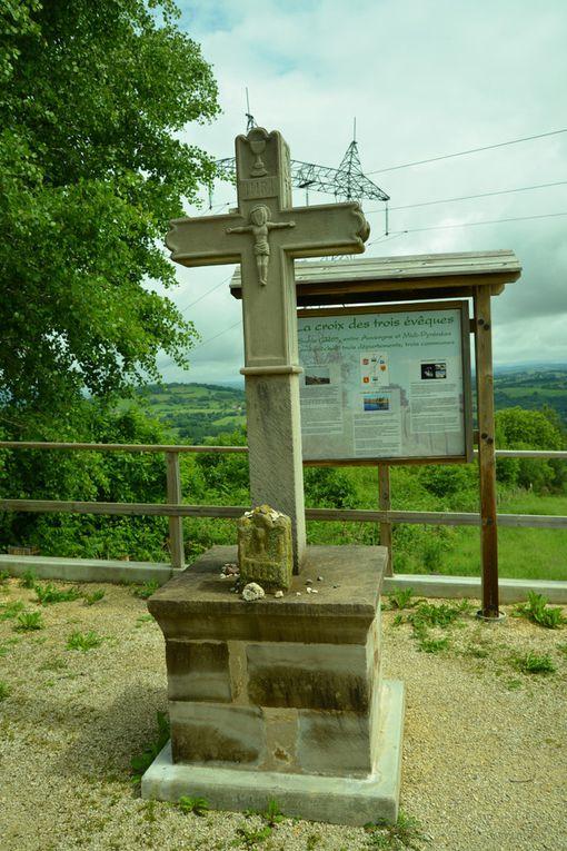 Saint Jacques jeudi 31 mai 2018: Decazeville Figeac