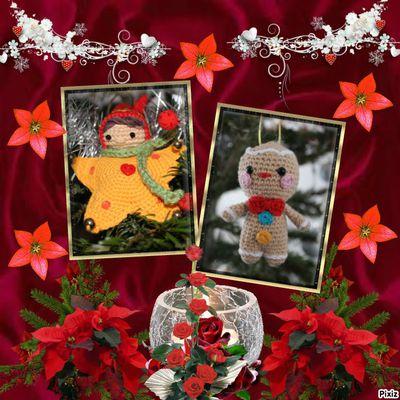 Amigurumis de Noël