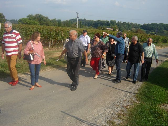 VISITE ST EMILLION 4 octobre 2014