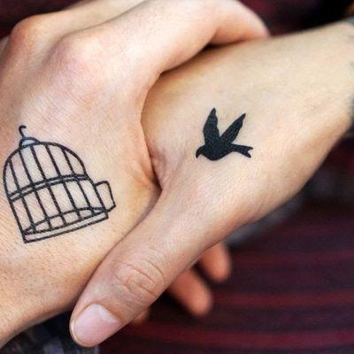 Tatouage à deux