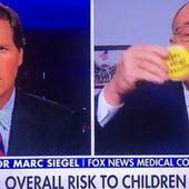 USA - VIDÉO: Un médecin recommande aux enfants de porter des badges jaunes s'ils n'ont pas reçu de vaccin COVID-19 . - MOINS de BIENS PLUS de LIENS