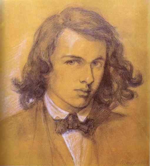 Peintre et poète anglais d'origine italienne (1828 – 882). Rossetti est le fondateur avec W.H.HUNT ET Sir J.E. Millais du mouvement préraphaélite...