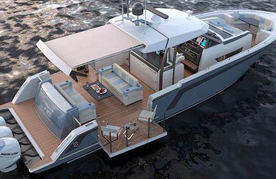 Avec Divergence 45, Ocean Alexander rentre sur le marché des hors-bord de luxe