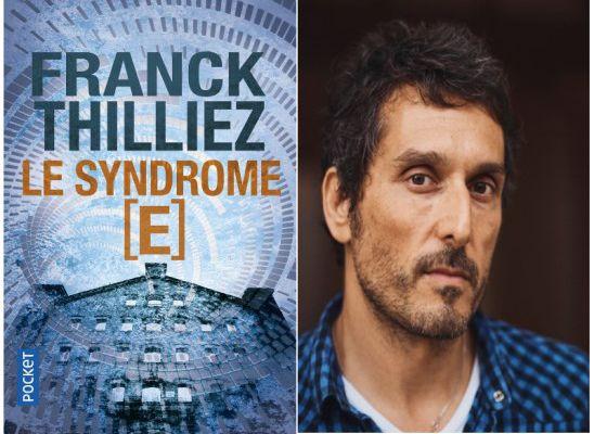 Le syndrome E : Vincent Elbaz sera Franck Sharko, le héros de Franck Thilliez pour TF1