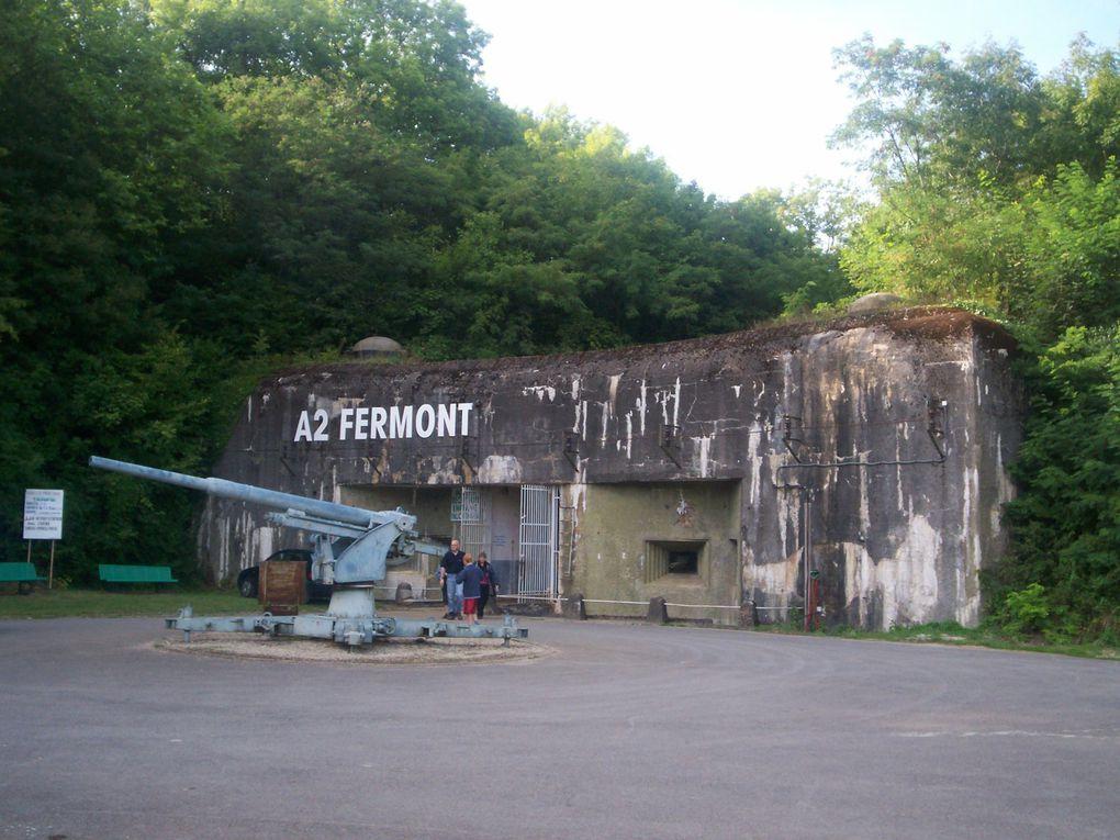 VISITE EXTERIEURE DU FORT DE FERMONT
