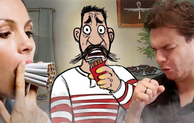 Fumer un paquet de cigarette par jour pendant 10 ans : Ça fait quoi ?