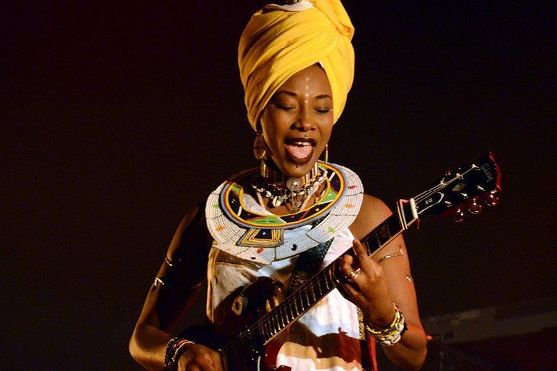 Fatoumata Diawara  / ARTISTE MALIENNE / GRAND TALENT